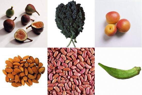 Кальций и его содержание  в продуктах