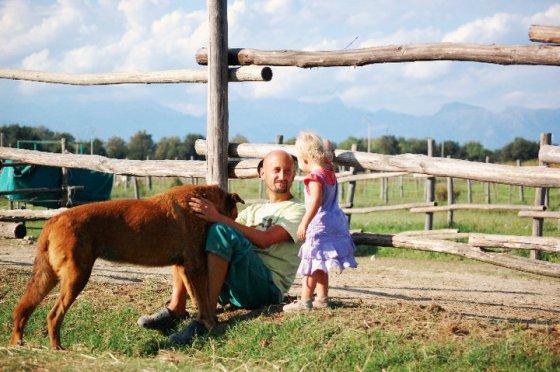 Ферма спасённых животных в Италии