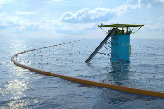 Студент из Голландии придумал уникальную систему очистки Мирового океана от мусора