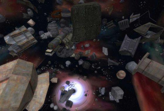 Ученые показали мусор, появившийся вокруг Земли с 1957 года (видео)