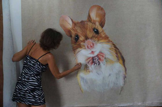 Потрясающе реалистичные картины канадской художницы вегана Chantal Poulin Duroche