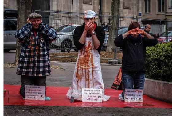 Акция 269 Life Франции «Виновные в убийствах»
