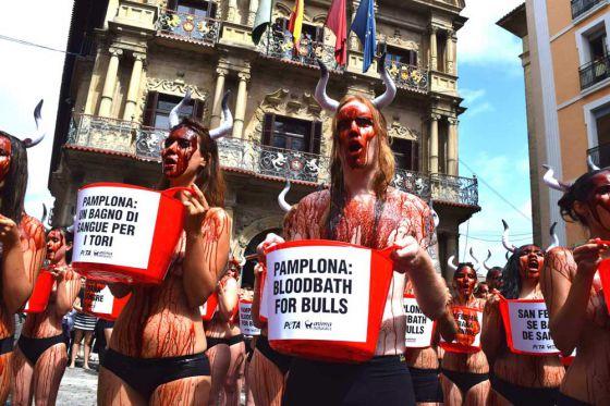 Мэр Памплоны поддержал протест против развлечений с быками