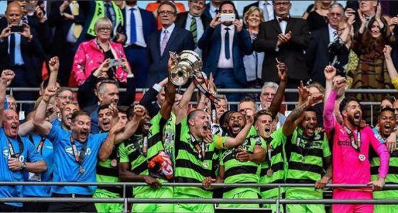 Веганский футбольный клуб Forest Green Rovers  вышел в профессиональную лигу