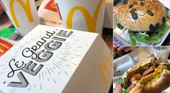 McDonald's во Франции выпустил в продажу вегетарианский гамбургер