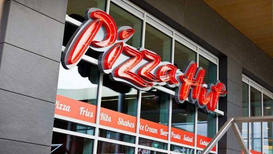 Pizza Hut в Великобритании  добавила в меню  веганский сыр