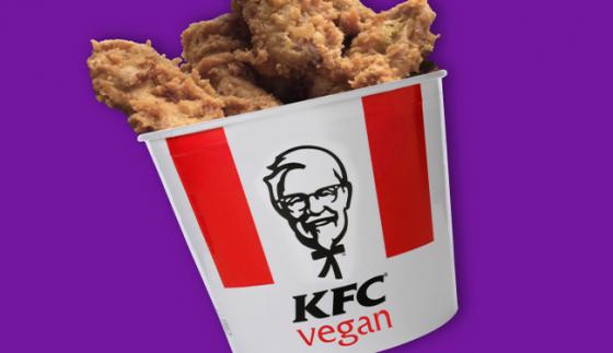 KFC запускает в продажу  веганский вариант VFC chick'n