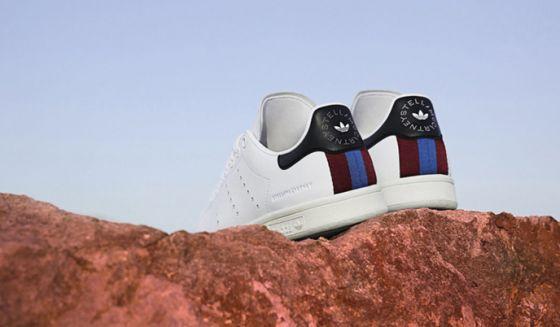Stella McCartney  и  Adidas  создали веганские кроссовки Stan Smith