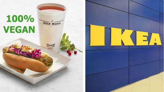 ИКЕА  запустила  продажи  веганских хот-догов в США и Европе