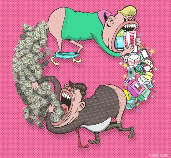 ЧЕЛОВЕК: популярный фильм Стива Каттса об обществе потребления