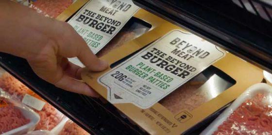 Веганский Beyond Burger появился в магазинах Tesco Великобритании