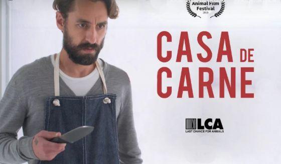 Лауреат  Animal Film Festival  фильм «Мясной дом» (Casa de Carne)  с русскими субтитрами