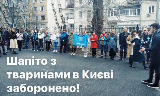 В Киеве окончательно запретили передвижные цирки с животными