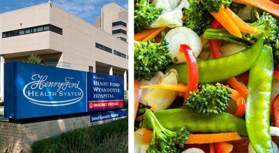 Больница  Генри Форда  в  Мичигане  продвигает  веганское  питание  для  профилактики  рака
