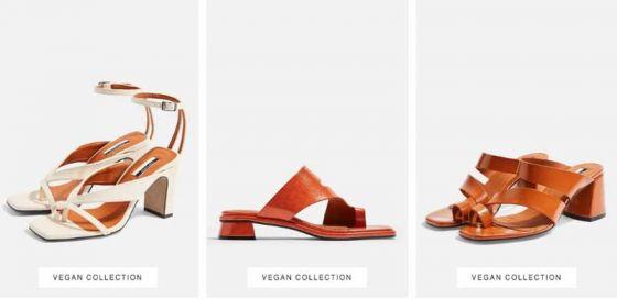 Topshop  представил  первую  коллекцию  веганской  обуви