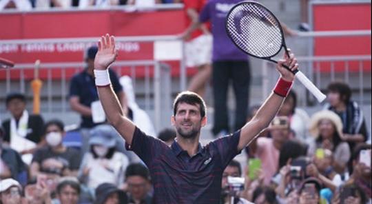 Новак Джокович  выиграл турнир в Токио